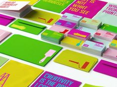 lovely stationery wtp2 #stationary #paint #colorful #branding