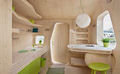 Smart student units Tengbom #interiors #architecture