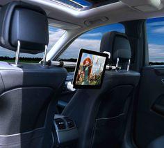 iVAPO iPad Headrest Mount Car Seat #tech #flow #gadget #gift #ideas #cool