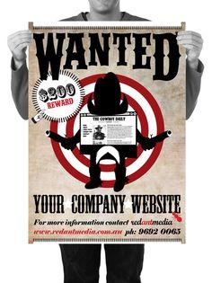 Red Ant Media Poster Design #print #design #poster