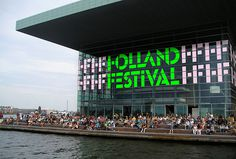 Holland Festival by Thonik #font #typography #typeface #sign