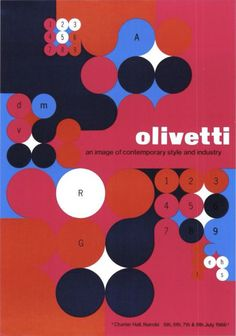 italian design olivetti #olivetti #print #poster