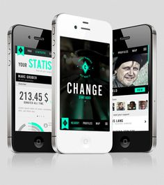 Change Help Make It. #app #mobile #ui