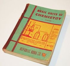 SALE Vintage 1947 Basic Units in Chemistry School by tracinicole on we heart it / visual bookmark #14183207