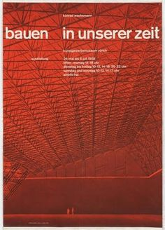 MoMA | The Collection | Josef Müller-Brockmann. Konrad Wachsmann, Bauen in Unserer Zeit. 1958