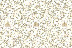 Alemagna font of inspiration #font #pattern #typeface #golden #gold #typography