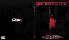 UBISOFT RAINBOW6 Branding - JASON WOZENCROFT / PORTFOLIO #urban #rainbow6 #branding #clancy #jason #gun #oscar #videogame #gameinformer #tom #identity #mar #wozencroft