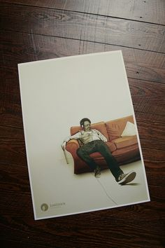 The Laid Back Poster on the Behance Network #back #laid