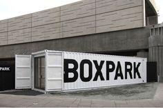 StudioMakgill - Boxpark #white #black #boxpark #tyrell #industrial #makgill #retail