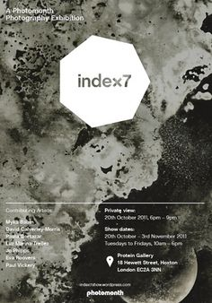 Protein® Feed | Index7 #poster #photography #exhibition