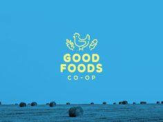 GoodFoodsCoop_Bullhorn #logo #logos #logotypes #food #farm #local #chicken