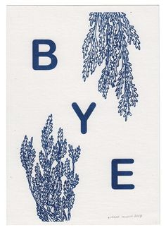 BYE #illustration