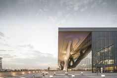CJWHO ™ (Qatar National Convention Centre, Doha, Qatar by...) #amazing #center #design #architecture #qatar #convention #national