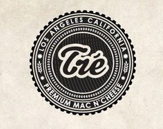 Tre Mac N' Cheese by emesghali #logo #circle #cheese #mac