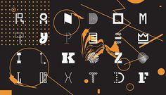 Random font on Behance #font #kozole #random #emil #typeface #type