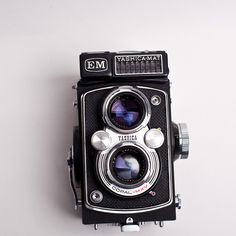 Yashica Mat EM #camera #vintage #mat #yashica #em
