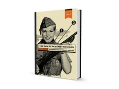 You Can Be an Expert Rifleman on Behance #rifle #orange #book #publication #cover #vintage #layout #editorial