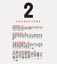 Cindie Mono, Lewis McGuffie #typeface #typography