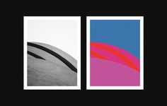 Solomon R. Guggenheim Museum, NYC Paraphrase 2018 #poster #graphicdesign #design #illustration #minimal #geometry #geometric #architecture #photography