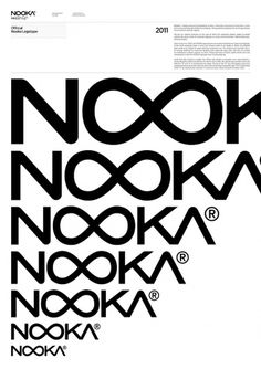 Nooka Design Team – SI Special | September Industry #logo #identity #guidelines #branding