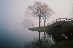 north shore Keith McArthur #fog #water #landscape #mist #photography #reflection #bridge