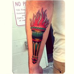 Spencer Evans | Tattoo and Art #tattoo #traditional #torch