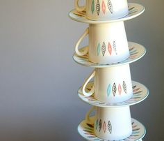 Nordic Mint Cup & Saucer Uncovet #cup
