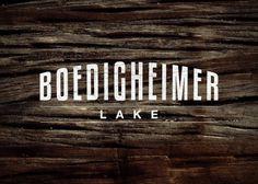 Branding 10,000 Lakes #1000 #lakes #logo #identity #lake #type