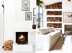 logs #interior #design #decor #deco #decoration