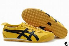 Asics Mexico 66 Yellow/Black Women's #shoes