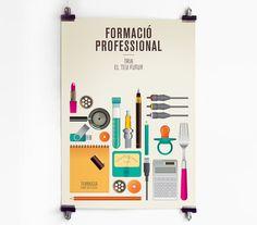 Campanya Formació Professional a Terrassa 2011 #vector