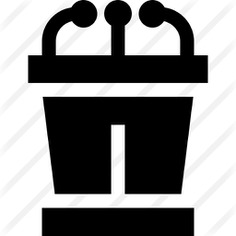 See more icon inspiration related to pedestal, tribune, podium, conference, presentation, speech, microphone, networking and business on Flaticon.