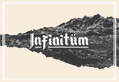 Infinitxc3xbcm Typeface #typography