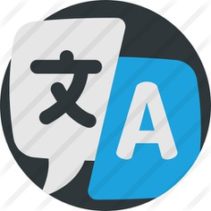 See more icon inspiration related to subject, course, translate, translator, translation, communications, education and language on Flaticon.