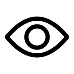 See more icon inspiration related to eye, view, ui, visibility, visible, medical and interface on Flaticon.