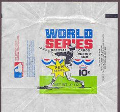 world series trading cards