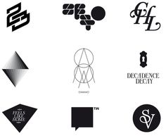 HelloMe_Logos2006 2010_05 #logo #minimal #logos #black and white