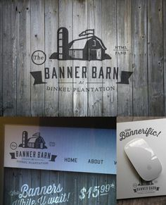 personal, logo, barn, web, wood, digital, banner, illustration
