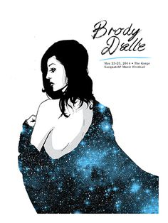 GigPosters.com - Brody Dalle #gig #poster
