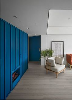 Vivid Color Apartment in the Downtown of Taipei City