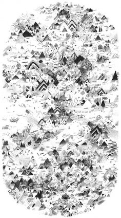 ::::: Kai Nodland - Illustration ::::: - Drawing #cartography #illustration #drawing #landscape