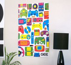Love for Games - Poster | Flickr - Photo Sharing! #illustration #poster #gaming