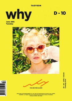 TAEYEON 2nd mini album 'Why' Teaser – Official PHOTO