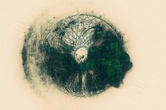 Untitled by ~Trosious #abstract #lines #circle #wallpaper #green