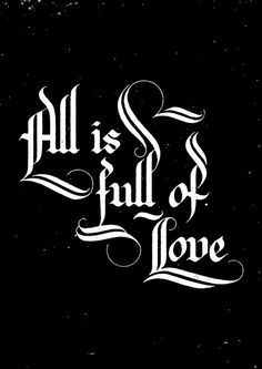 All is Full of Love on Behance