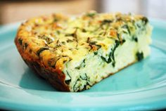 basil frittata #food