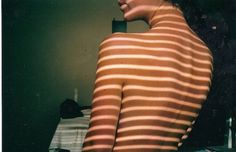 Untitled | Flickr - Photo Sharing! #stripes #photography #light #girl