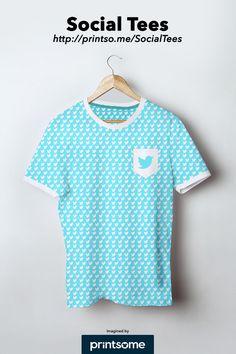 #Twitter #social #tee #tshirt #clothing #design