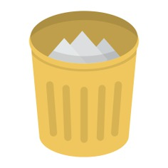 See more icon inspiration related to trash, bin, basket, can, garbage, miscellaneous, interface and Tools and utensils on Flaticon.