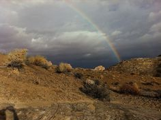 Flickr: Your Photostream #rainbow #utah #desert